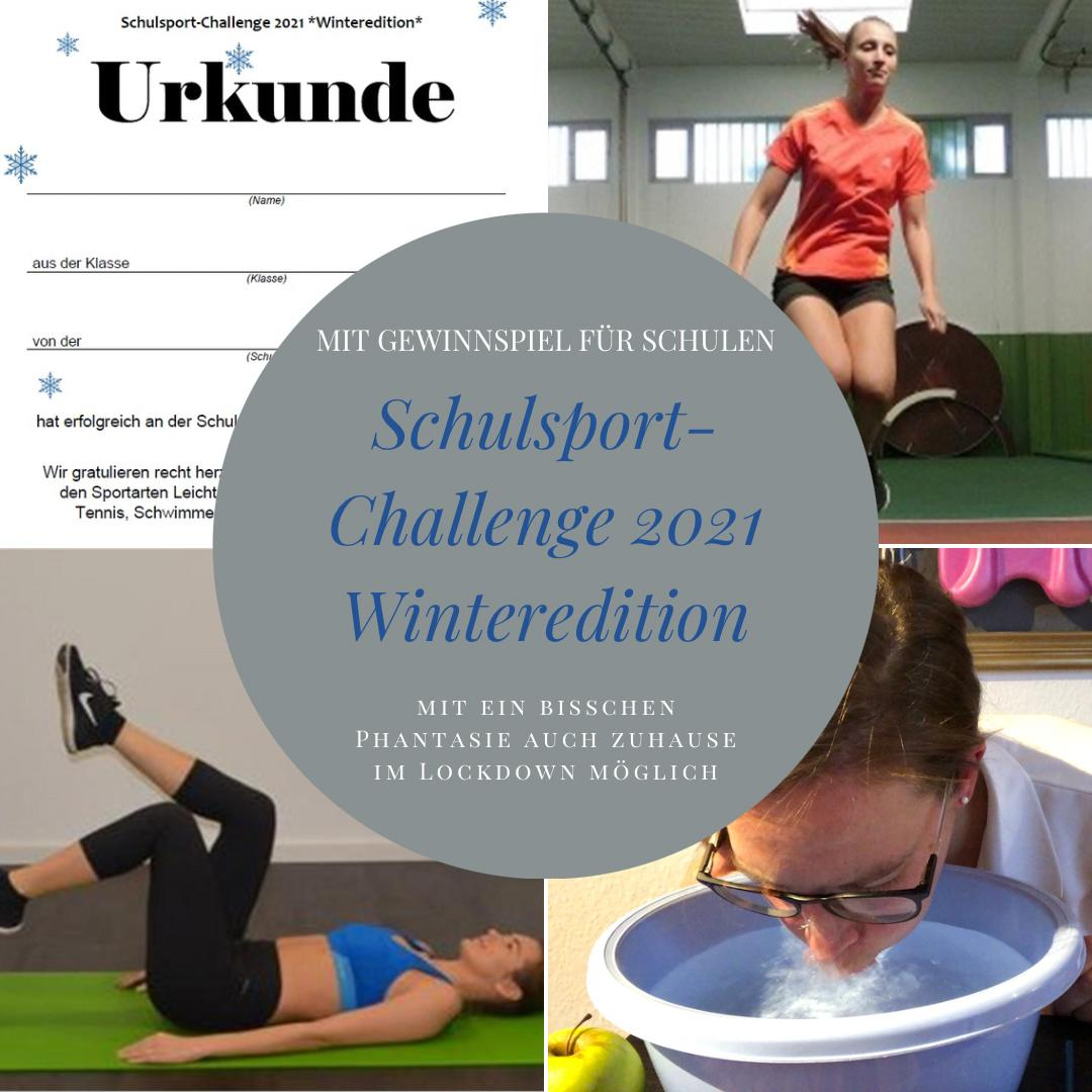 Schulsport Challenge 2021 Winteredition